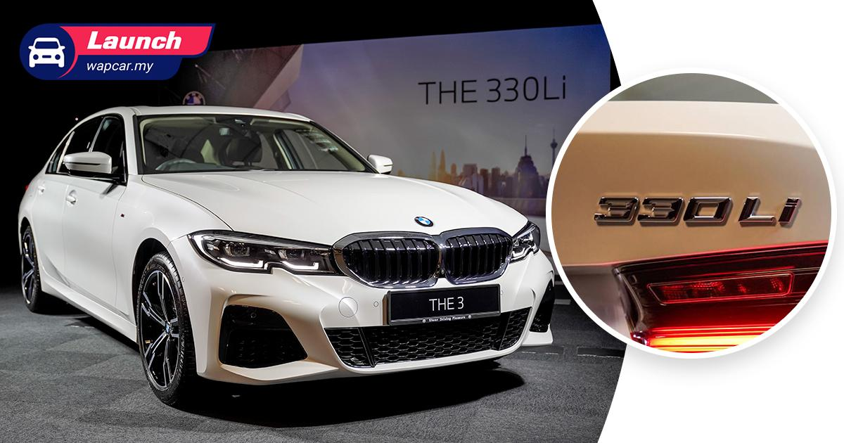 Just a longer 3 Series: 2021 BMW 330 Li (G28) previewed in Malaysia, est. price from RM 300k 01
