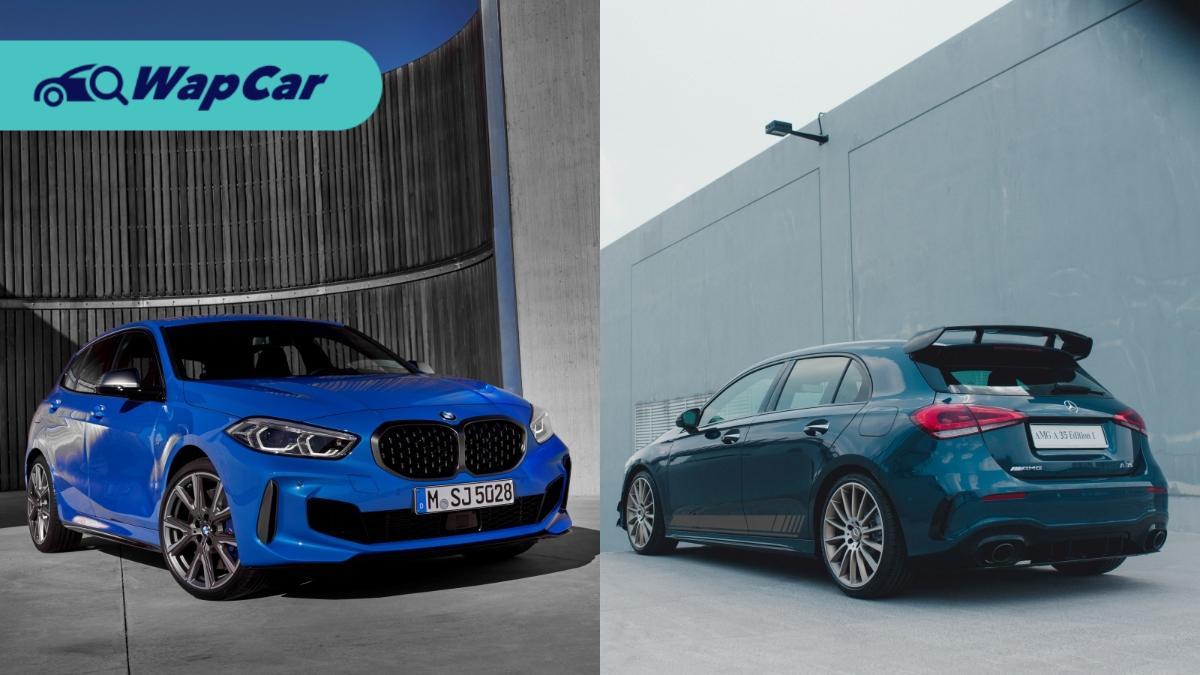 Mercedes-AMG A35 2020 vs BMW M135i (F40) – hot hatch mana lagi padu? 01