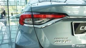 2019 Toyota Corolla Altis 1.8E Exterior 014