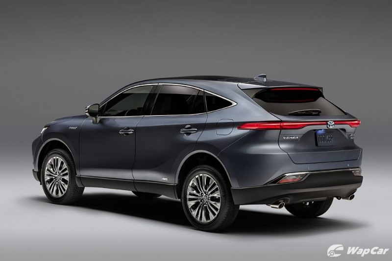 All-new 2021 Toyota Venza revealed, rebadged Toyota Harrier for the US 02