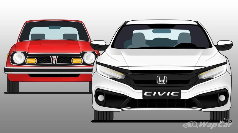 Honda Civic di dalam 10 generasi – warisan Honda yang terhebat? 02