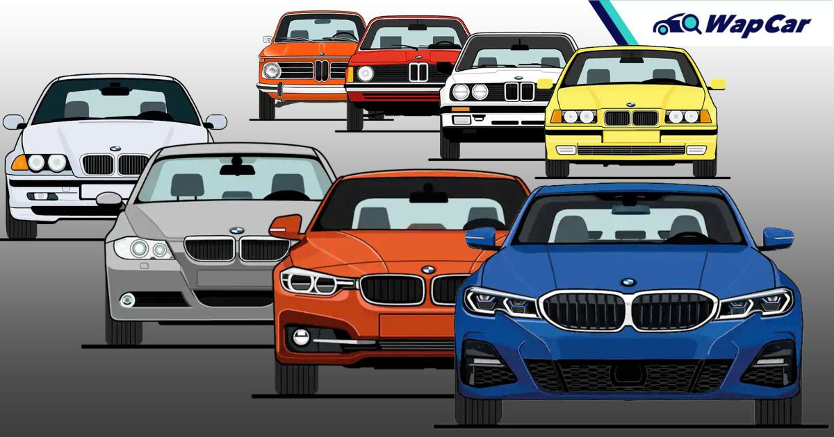 Evolution of the BMW 3 series in 7 generations – still the ultimate sedan? 01