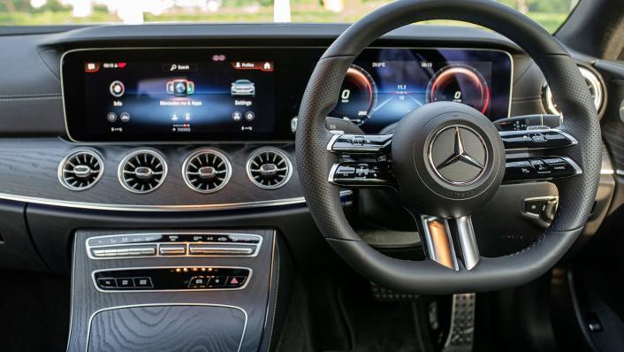 2021 Mercedes-Benz E-Class Coupe E300 AMG Line Interior 002