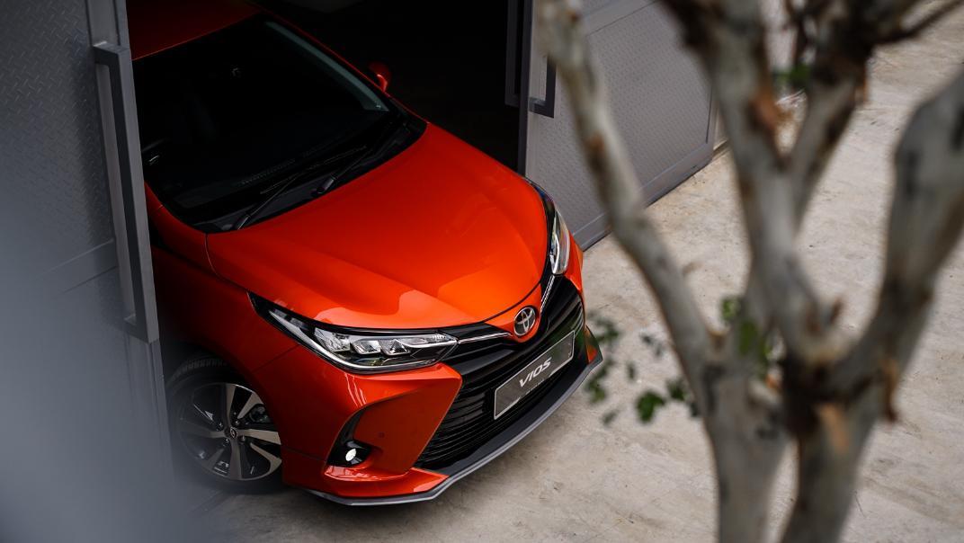 2021 Toyota Vios 1.5E Exterior 010