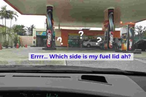 Which side is my car's fuel lid on? Left side? Right side?