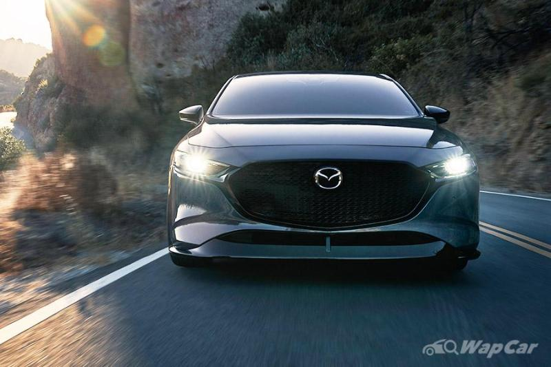 Whine like a turbo - 2020 Mazda 3 Turbo left-hand drive only 02
