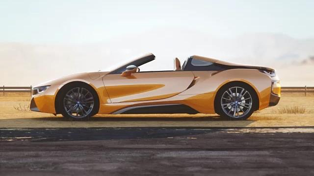 BMW i8 Roadster (2018) Exterior 005
