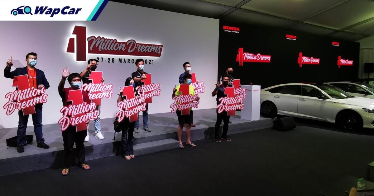They shopped, they clicked, they won – 4 lucky winners received free Honda cars 01