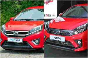 The New Perodua Axia 2019 facelift, so what's new?