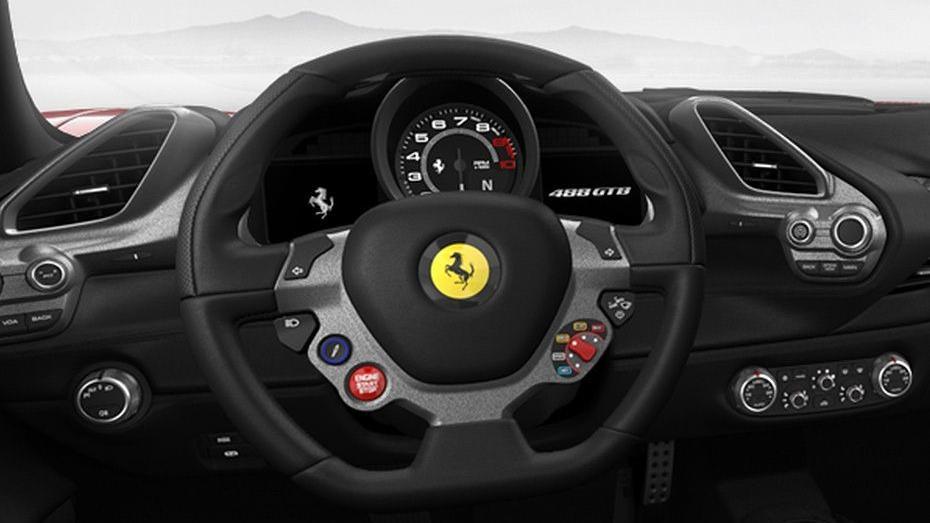 Ferrari 488 (2015) Interior 012