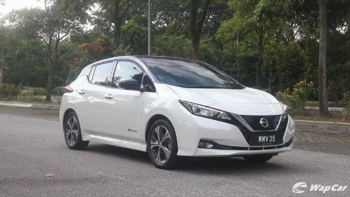 2019 Nissan Leaf Exterior 003