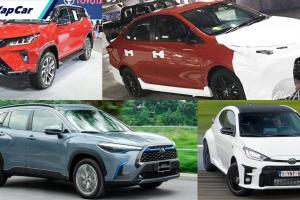 Kereta Toyota yang akan dilancarkan di Malaysia pada tahun 2021!