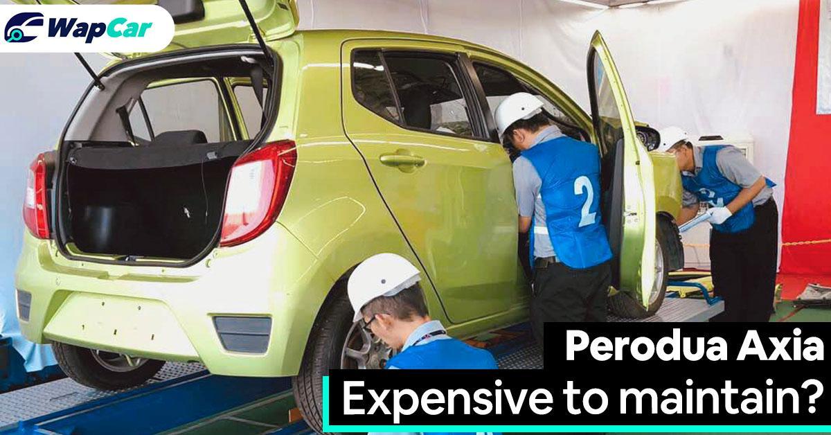 Perodua Axia: Berapa kos jagaan untuk tempoh 5 tahun? 01