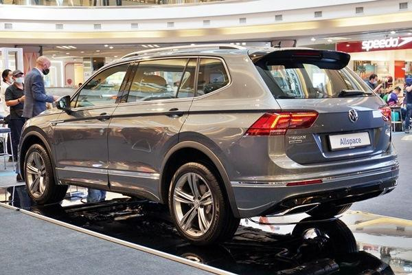 Why the VW Tiguan Allspace has ridges on its roof?