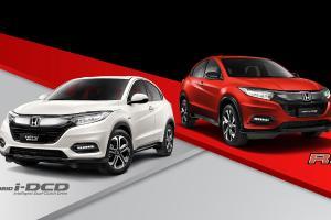 Honda HR-V 2021 dipertingkat - lampu LED baru, Apple Carplay, Android Auto tapi harga kekal sama!
