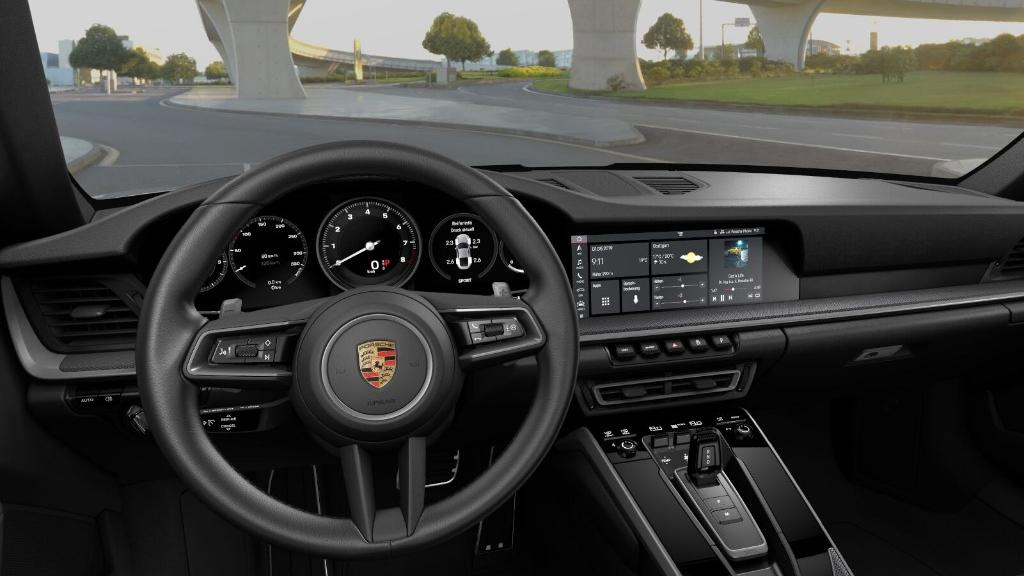 2019 Porsche 911 The New 911 Carrera S Interior 002