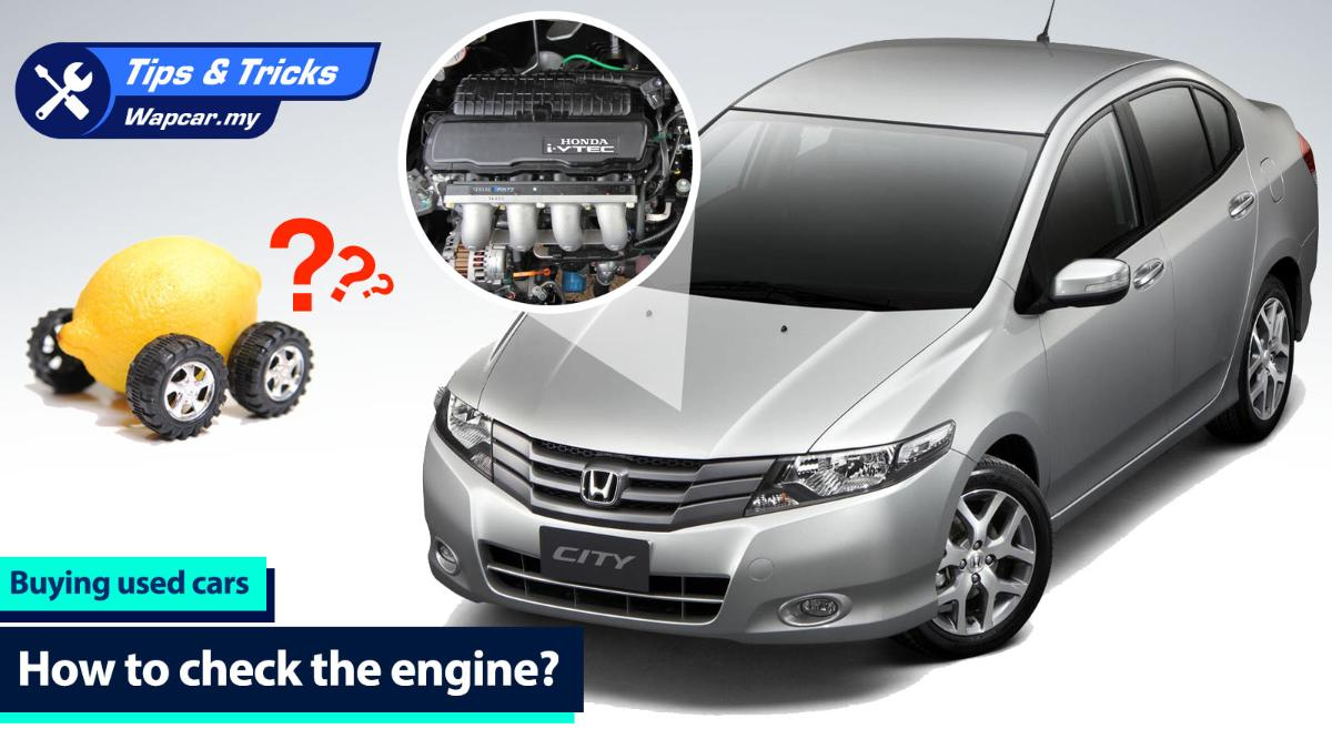 Used car shopping: 6 tips for checking the engine 01
