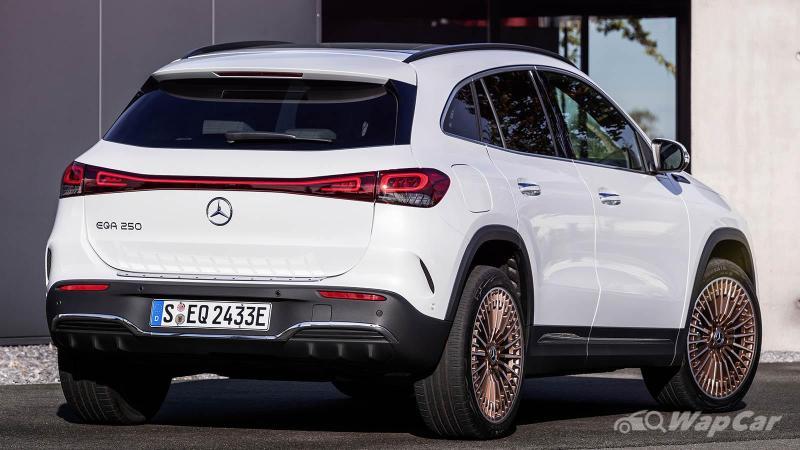 Mercedes-Benz EQA debuts, 420 km range entry-level premium electric car 02