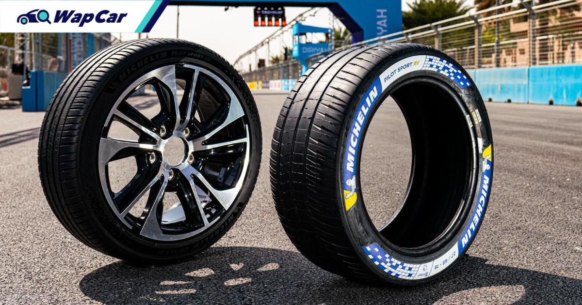 New Michelin Pilot Sport tyres launched! But it's only for EVs 01