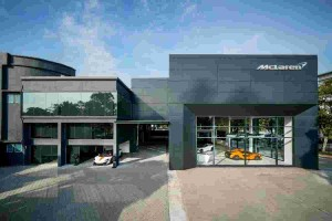 Interested in a McLaren? The showroom awaits you at Glenmarie