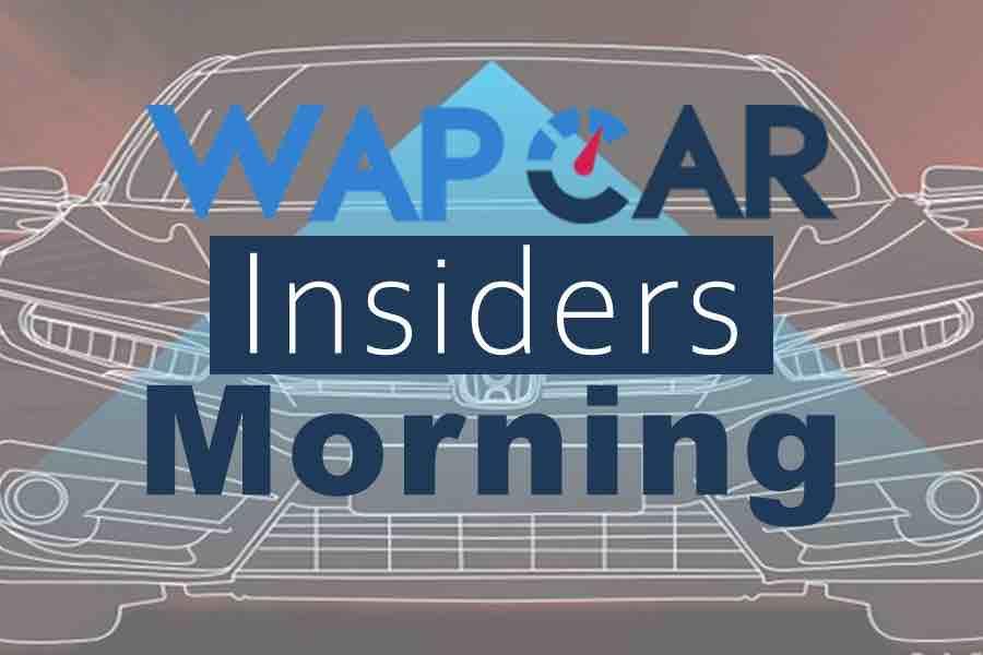 Wapcar Morning Insiders (Sep. 11, 2019)