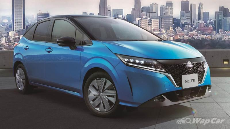 The 2021 Nissan Note is a rival to the Honda Jazz, but it's struggling to reach Malaysia 02