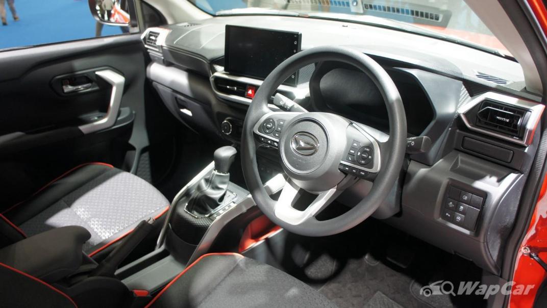 2021 Perodua Ativa Interior 003