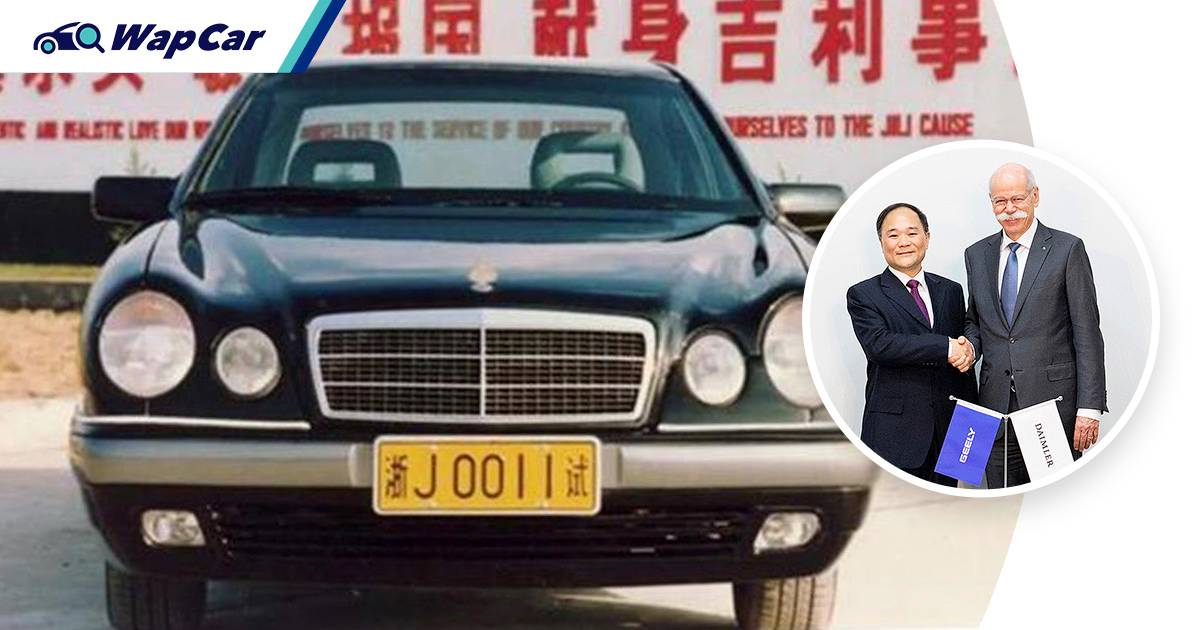 Did Geely's first-ever car predicted the company's partnership with Mercedes-Benz? 01