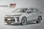 All-new 2021 Toyota Harrier GR Sport rendered