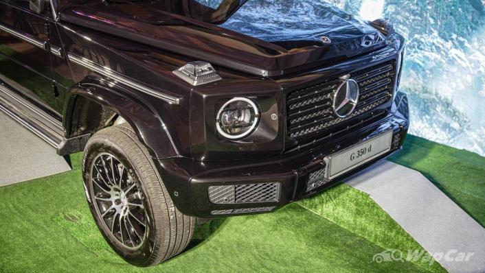2020 Mercededs-Benz G-Class 350 d Exterior 005