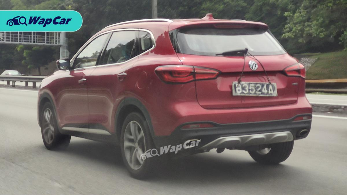 Spied: MG HS, is the Proton X70's Chinese rival finally coming in 2021? 01