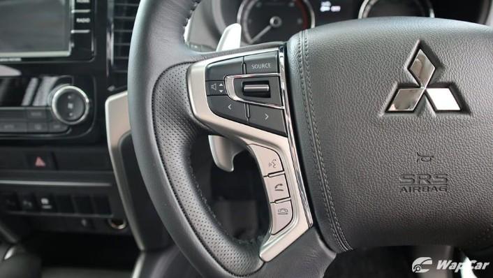 2019 Mitsubishi Triton VGT Adventure X Interior 007