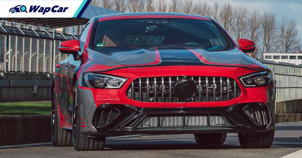 2021 Mercedes-AMG GT 73e hybrid 4-door coupe revealed – 800 PS, 4.0L V8 01