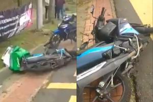 Grab Food rider dies after hitting pothole near Ikea Damansara