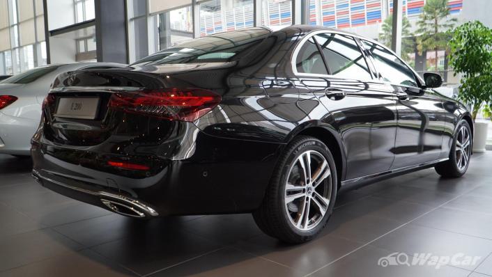 2021 Mercedes-Benz E-Class E200 Avantgarde Exterior 004