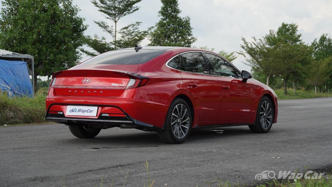 2020 Hyundai Sonata 2.5 Premium Exterior 013