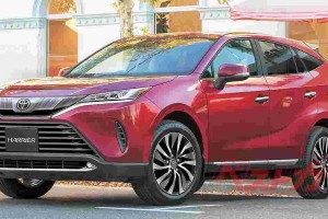 All-new Toyota Harrier rendered