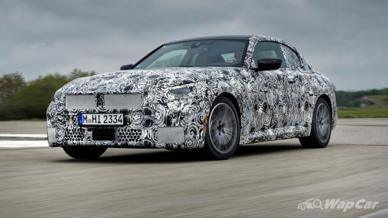RWD 2022 BMW 2 Series Coupe makes amends to enthusiasts for 2 Series GC 02