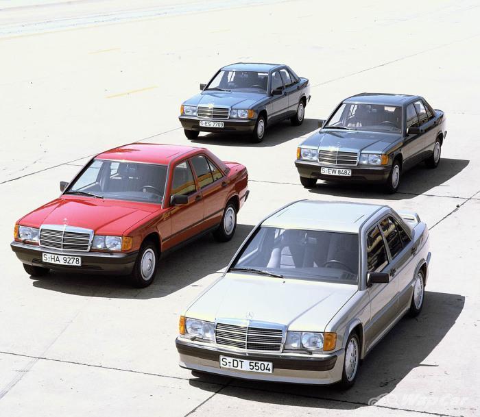Sejarah Mercedes-Benz 190 E – Keunggulan segmen eksekutif kompak era 80-an 01