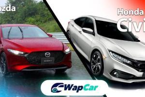 Kenapa Mazda 3 jauh lebih mahal daripada Honda Civic/Toyota Corolla Altis?