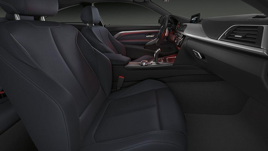 BMW 4 Series Coupe (2019) Interior 010