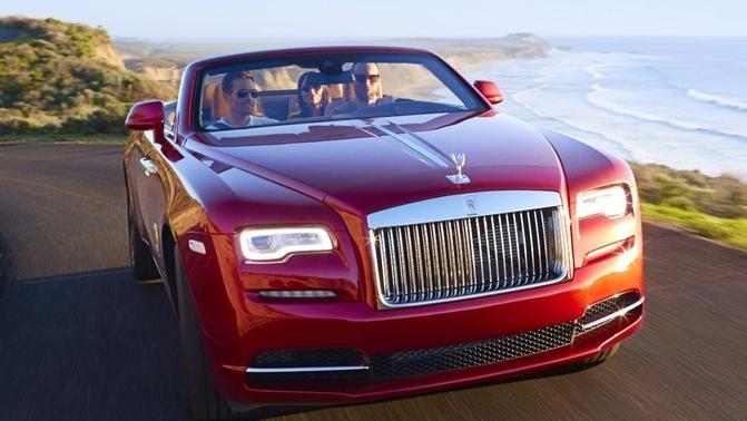 2016 Rolls Royce Dawn Dawn Exterior 002