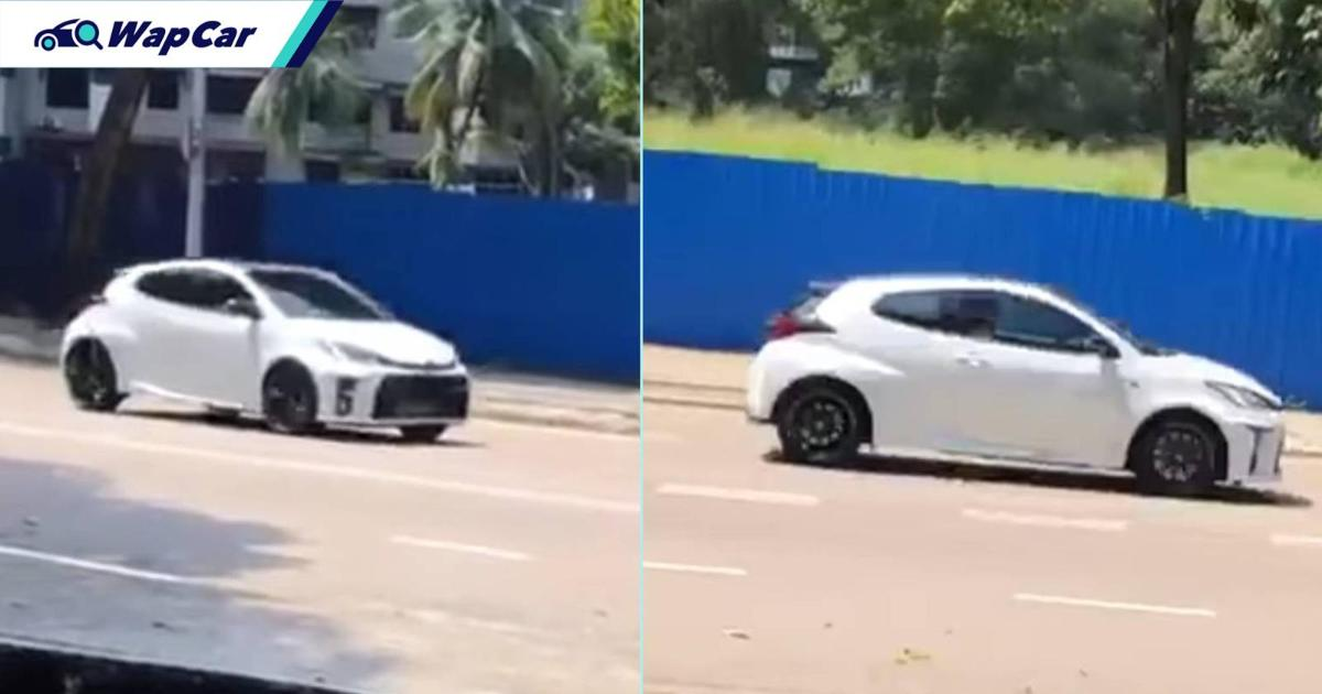 Sultan of Johor spotted driving Toyota GR Yaris - likely first unit sold in Malaysia! 01