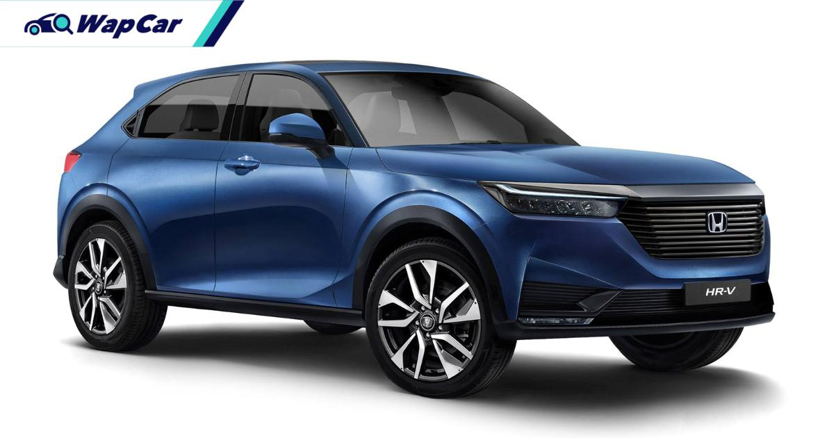 Rendered: All-new 2021 Honda HR-V - Most accurate yet? 01