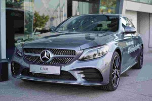 What is Airmatic suspension on the Mercedes-Benz C300?