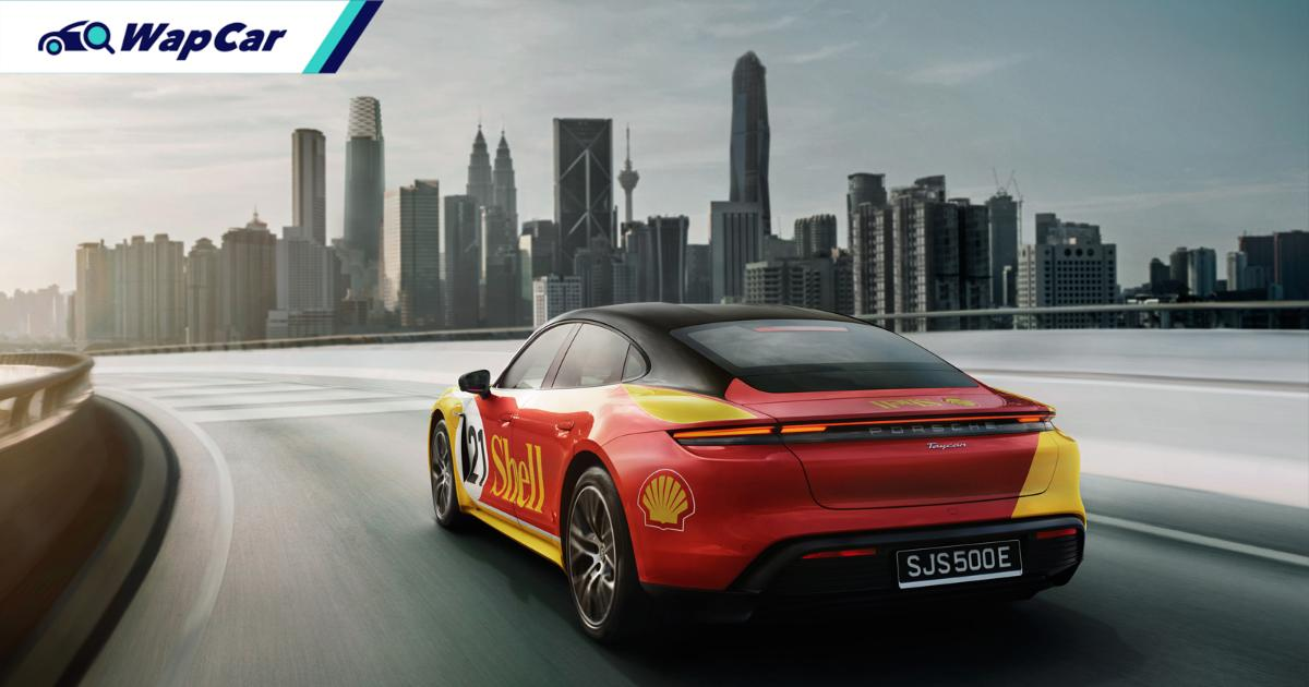 With Shell's DC fast chargers, you can drive a Porsche Taycan from Penang to Singapore 01