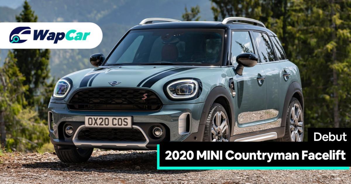 2020 MINI Countryman Facelift Debuts