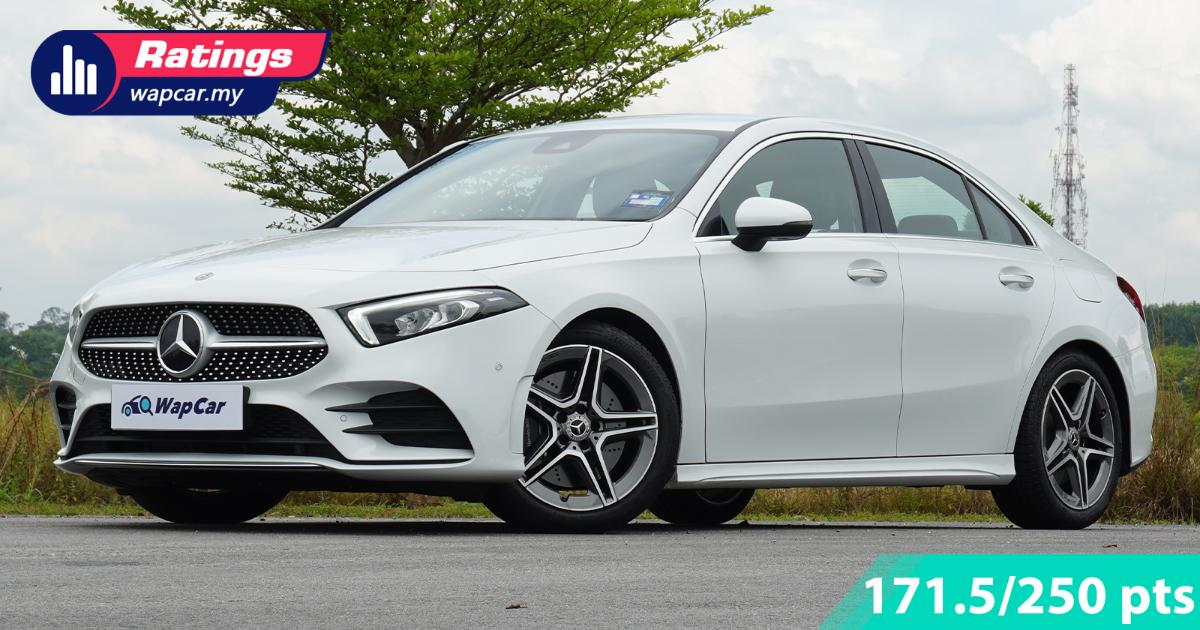 Ratings: Mercedes-Benz A250 AMG Line sedan - Performs as good as it looks 01
