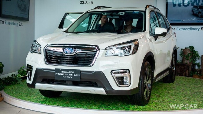 2019 Subaru Forester 2.0i-S EyeSight Exterior 010