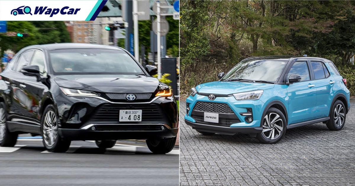 Toyota Raize and Harrier dominates Japan's 2020 new car sales 01